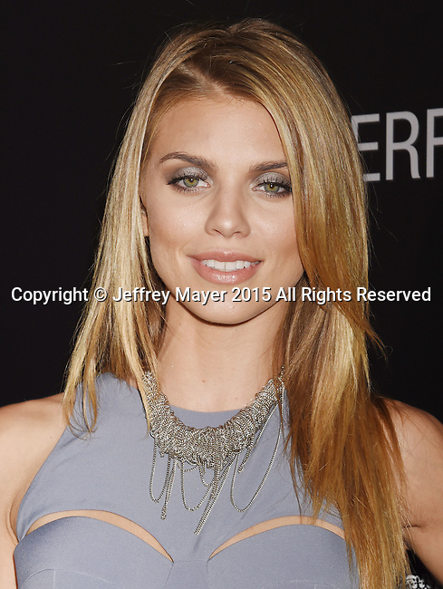 BEVERLY HILLS, CA - SEPTEMBER 02: Actress AnnaLynne McCord arrives at the premiere of Screen Gems' 'The Perfect Guy' at The WGA Theater on September 2, 2015 in Beverly Hills, California.