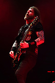 WEST PALM BEACH, FL - MAY 11: Gary Holt of Slayer performs at The Coral Sky Amphitheatre on May 11, 2019 in West Palm Beach Florida. Credit Larry Marano © 2019