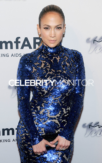 NEW YORK, NY - JUNE 13: Jennifer Lopez attends the 4th Annual amfAR Inspiration Gala New York at The Plaza Hotel on June 13, 2013 in New York City. (Photo by Celebrity Monitor)