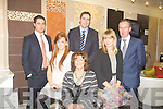FAMILY: The O'Connor family proprietors of new H-Factor House and Homes on the John Joe Sheehy Road, Tralee with Daragh O'Se? who opened the store on Friday evening. L-r: Mark, Claire,Kathryn,Edwina and Jed O'Connor and Darragh O Se?...
