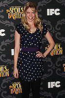 "LOS ANGELES, CA - JANUARY 07: Riki Lindhome arriving at the Los Angeles Screening Of IFC's ""The Spoils Of Babylon"" held at the Directors Guild Of America on January 7, 2014 in Los Angeles, California. (Photo by Xavier Collin/Celebrity Monitor)"