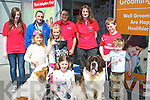 ANNIVERSARY: Petmania Pet Shop Manor Retail Park,Tralee on Saturday celebrated 5year in business at the anniversary celebration at Petmania were, Aoife Lewis,Katie Moriarty, Shena Moriarty, Shane Casey, Cathal Casey, (Molly and Sam Bernard Dogs), Laura and Linda Cavanagh, Chris galus and Damien Moran.