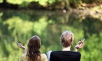 Couple at Sonsbeek Park in Arnhem