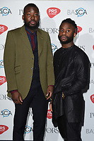 Young Fathers<br /> at The Ivor Novello Awards 2017, Grosvenor House Hotel, London. <br /> <br /> <br /> ©Ash Knotek  D3267  18/05/2017
