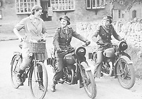 BNPS.co.uk (01202 558833)<br /> Pic: Pen&Sword/BNPS<br /> <br /> PICTURED: Members of the F.A.N.Y. motor cycle unit.<br /> <br /> These inspiring photos of nurses on the front line feature in a new book which charts a century's heroic wartime service.<br /> <br /> The First Aid Nursing Yeomanry (FANY) was founded in 1907 by Captain Edward Baker with the early recruits trained in cavalry, signalling and camping.<br /> <br /> They were despatched to France at the outset for World War One to tend to injured troops on the battlefield, setting up hospitals for the many casualties. Other heroines dragged wounded personnel from exploding ammunition dumps.<br /> <br /> The brave nurses were again in the centre of the action in World War Two, performing sterling work in the harshest of conditions.<br /> <br /> Their stories feature in The First Aid Nursing Yeomanry in War and Peace, by Hugh Popham.