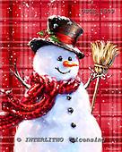Dona Gelsinger, CHRISTMAS SANTA, SNOWMAN, WEIHNACHTSMÄNNER, SCHNEEMÄNNER, PAPÁ NOEL, MUÑECOS DE NIEVE, paintings+++++,USGE1509,#x#