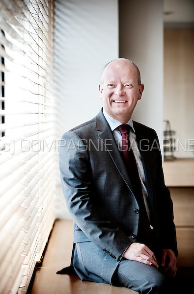François Parisis, chief wealth structuring officer from the private banking company Puilaetco Dewaay (Belgium, 25/06/2014)