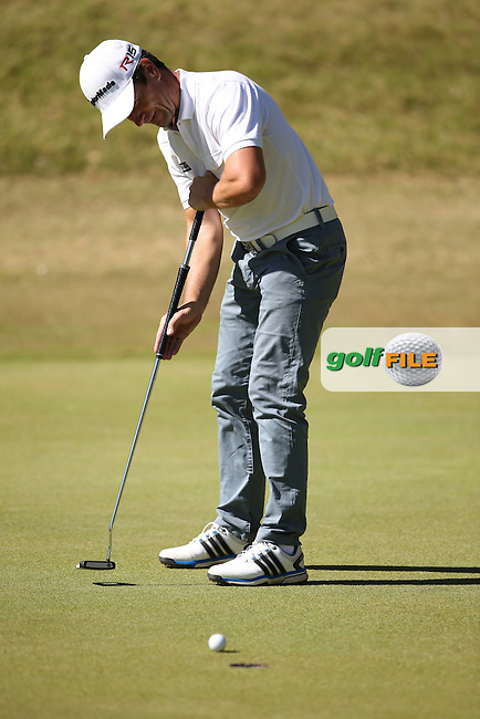 Steve Webster (ENG) makes back to back birdies on the 8th and 9th during Round Three of the Africa Open 2015 at the East London Golf Club, East London, Eastern Cape, South Africa. Picture:  David Lloyd / www.golffile.ie. 07/03/2015
