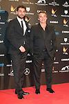Jesus Carroza and Eduard Fernandez attends the Feroz Cinema Awards 2015 at Las Ventas, Madrid,  Spain. January 25, 2015.(ALTERPHOTOS/)Carlos Dafonte)