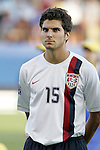 06 July 2007: USA's Sal Zizzo. The Under-20 Men's National Team of the United States defeated Brazil's Under-20 Men's National Team 2-1 in a Group D opening round match at Frank Clair Stadium in Ottawa, Ontario, Canada during the FIFA U-20 World Cup Canada 2007 tournament.