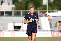 Cary, North Carolina  - Saturday August 05, 2017: Denise O'Sullivan prior to a regular season National Women's Soccer League (NWSL) match between the North Carolina Courage and the Seattle Reign FC at Sahlen's Stadium at WakeMed Soccer Park. The Courage won the game 1-0.