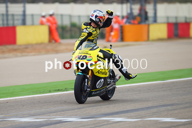 Gran Premio Movistar de Aragón<br /> during the moto world championship in Motorland Circuit, Aragón<br /> Race Moto2<br /> mavrick viñales<br /> PHOTOCALL3000