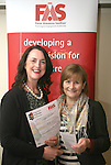Caroline Kavanagh with Marian Wright from FÁS at the  Louth County Enterprise Lunch in The Boyne Valley Hotel...Photo NEWSFILE/Jenny Matthews.(Photo credit should read Jenny Matthews/NEWSFILE)....This Picture has been sent you under the condtions enclosed by:.Newsfile Ltd..The Studio,.Millmount Abbey,.Drogheda,.Co Meath..Ireland..Tel: +353(0)41-9871240.Fax: +353(0)41-9871260.GSM: +353(0)86-2500958.email: pictures@newsfile.ie.www.newsfile.ie.FTP: 193.120.102.198.
