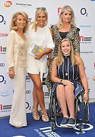 Katy Hill and guests at the Nordoff Robbins O2 Silver Clef Awards 2018, Grosvenor House Hotel, Park lane, London, England, UK, on Friday 06 July 2018.<br /> CAP/CAN<br /> &copy;CAN/Capital Pictures
