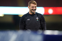 Dan Biggar of Wales during the Wales Captains Run at The Principality Stadium in Cardiff, Wales, UK. Friday 16 November 2018