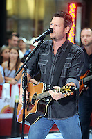 Blake Shelton performs on NBC's Today Show Toyota Concert Series at Rockefeller Center in New York City. July 8, 2011. © mpi01 / MediaPunch Inc.