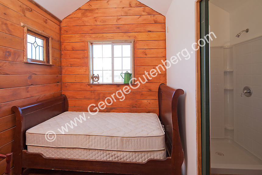 Small bedroom in ranch bunk house