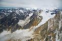 July 17 thru 23 / Alaska / Vacation and stock photography / Ruth Glacier views back toward Mt. McKinley Alaska / Photo by Bob Laramie