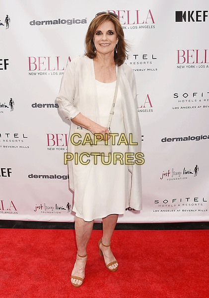 LOS ANGELES, CA - JUNE 23:  Actress Linda Gray attends the BELLA Los Angeles Summer Issue Cover Launch Party at Sofitel Los Angeles At Beverly Hills on June 23, 2017 in Los Angeles, California.<br /> CAP/ROT/TM<br /> &copy;TM/ROT/Capital Pictures