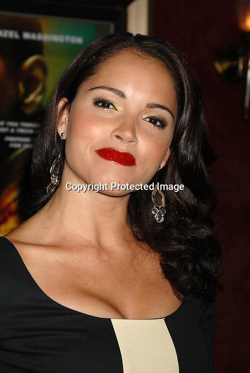 "Susie Castillo..arriving at The ""Deja Vu"" World Movie premiere on November 20, 2006 at The Ziegfeld Theatre. ..Robin Platzer, Twin Images"