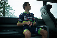 Adam Yates (GBR/Orica-BikeExchange)<br /> <br /> New kits/colors for a new name sponsor as Team Orica-GreenEDGE changes into Team Orica-BikeExchange ahead of the 2016 Tour de France
