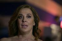 SAO PAULO, SP, 26.10.2016 - SPFW-N42 - A atriz Claudia Raia durante o São Paulo Fashion Week N42 no Parque do Ibirapuera , zona sul de São Paulo, nesta quarta-feira, 26. (Foto: Ciça Neder / Brazil Photo Press)