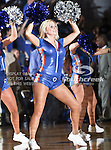 The Texas-Arlington Mavericks dance team in action during the game between the Stephen F. Austin Lumberjacks and the UTA Mavericks held at the University of Texas at Arlington's, Texas Hall, in Arlington, Texas.  UTA defeats Stephen F. Austin  66 to 65 in overtime.