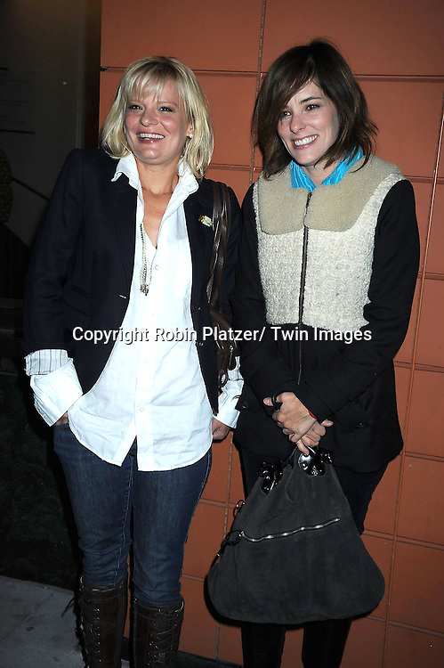 "Martha Plimpton and Parker Posey attending The Opening Night of ""The Pee-Wee Herman Show"" on Broadway .on November 11, 2010 at The Stephen Sondheim Theatre in New York City."