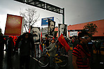 MEXICO DF. SEPTEMBER 1, 2006. SUPPORTERS OF LEFTIST PRESIDENTIAL CANDITATE ANDRES MANUEL LOPEZ OBRADOR TRY TO REACH THE CONGRESS OF THE UNION IN ORDER TO PROTEST AGAINST THE ARRIVAL OF PRESIDENT VICENTE FOX TO GIVE THE ANNUAL STATE OF THE NATION.