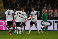 celebrate the goal, Torjubel zum 5:1 Leon Goretzka (Deutschland, Germany) - 19.11.2019: Deutschland vs. Nordirland, Commerzbank Arena Frankfurt, EM-Qualifikation DISCLAIMER: DFB regulations prohibit any use of photographs as image sequences and/or quasi-video.