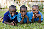 School children, Kibale National Park, western Uganda