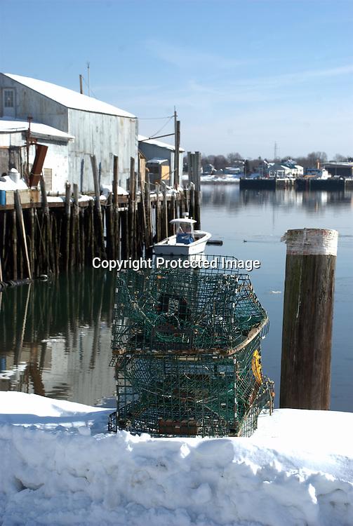 Winter Lobstering