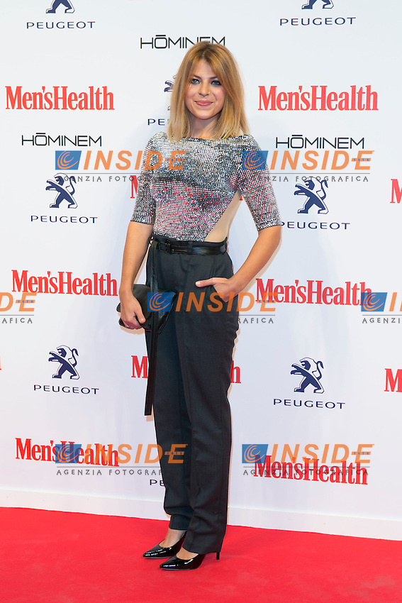 Thais Blume attend the MENS HEALTH AWARDS at Goya Theatre in Madrid, Spain. October 28, 2014. (ALTERPHOTOS/Carlos Dafonte/Insidefoto)