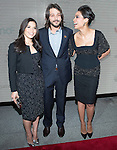 America Ferrera Diego Luna and Rosario Dawson attends the Cesar Chavez Premiere at The Newseum on March 18, 2014 in Washington, D.C., hosted by Voto Latino