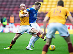 Motherwell v St Johnstone&hellip;20.10.18&hellip;   Fir Park    SPFL<br />Liam Craig is tackled by Curtis Main<br />Picture by Graeme Hart. <br />Copyright Perthshire Picture Agency<br />Tel: 01738 623350  Mobile: 07990 594431