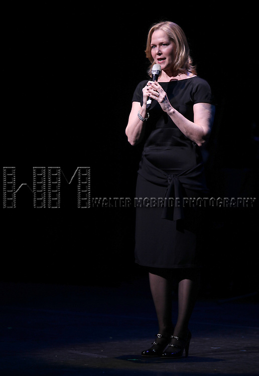 Rebecca Lucker.performing in STRO! The Vineyard Theatre Annual Spring Gala honors Susan Stroman at the Hudson Theatre in New York City.