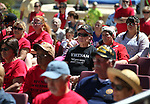 Several hundred people participate in a Veterans Suicide Awareness event at Western Nevada College in Carson City, Nev., on Saturday, May 2, 2015.<br /> Photo by Cathleen Allison