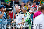 Peter Keane Kerry Manager  Kerry v Clare in the Munster Minor Football Final at Fitzgerald Stadium on Sunday.
