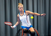 Amstelveen, Netherlands, 22 Augustus, 2020, National Tennis Center, NTC, NKR, National  Wheelchair Tennis Championships, Womans single final:  Diede de Groot (NED)  <br /> Photo: Henk Koster/tennisimages.com
