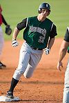 Augusta Green Jackets third baseman David Maroul rounds third following his 2-run home run in the 7th inning versus the Kannapolis Intimidators at Fieldcrest Cannon Stadium in Kannapolis, NC, Sunday, June 18, 2006.