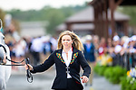 Heidi Bratlie Larsen and Euforian. NOR. Eventing. Team and individual Horse Inspection before dressage. Day 2. World Equestrian Games. WEG 2018 Tryon. North Carolina. USA. 12/09/2018. ~ MANDATORY Credit Elli Birch/Sportinpictures - NO UNAUTHORISED USE - 07837 394578