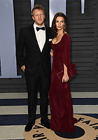04 March 2018 - Los Angeles, California - Emily Ratajkowski, Sebastian Bear-McClard. 2018 Vanity Fair Oscar Party hosted following the 90th Academy Awards held at the Wallis Annenberg Center for the Performing Arts. <br /> CAP/ADM/BT<br /> &copy;BT/ADM/Capital Pictures