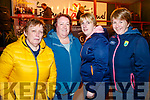 Eleanor Moran, Marie Kennelly Siobhan O'Shea and Liz O'Sullivan, celebrating Listowel Tidy Town overall winners on Monday night.