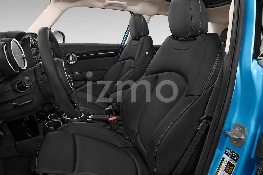 Front seat view of a 2015 MINI Cooper S 4 Door 4 Door Hatchback Front Seat car photos