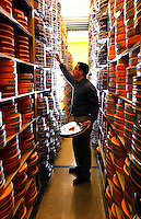 Rick Wilson Photo--11/20/03--NFL Films has a 3,500 square foot film vault containing millions of feet of film at their state of the art facility in Mt. Laurel, New Jersey just outside of Philadelphia on Thursday November 20, 2003. (Rick Wilson/The Florida Times-Union)