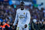 Ferland Mendy of Real Madrid during La Liga match between Getafe CF and Real Madrid at Coliseum Alfonso Perez in Getafe, Spain. January 04, 2020. (ALTERPHOTOS/A. Perez Meca)