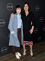 09 January 2019 - Hollywood, California - Marcia Gay Harden, Emily Skeggs. Lifetime Winter Movies Mixer held at The Andaz, Studio 4. Photo Credit: Birdie Thompson/AdMedia