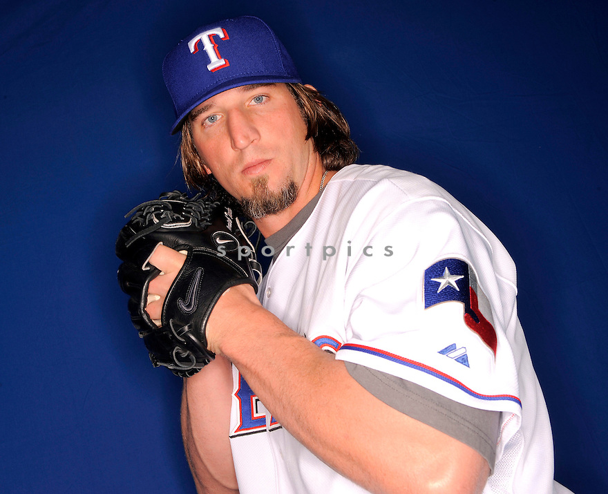 DERRICK TURNBOW, of the Texas Rangers, during photo day of spring training and the Ranger's training camp in Surprise, Arizona on February 24, 2009.