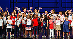 WATERBURY,  CT-052019JS04- Students from Generali Elementary School sing a patriotic medley during the Waterbury Public School's Celebration Community Through the Arts II district-wide talent show held Monday at the Palace Theater in Waterbury. <br /> Jim Shannon Republican American