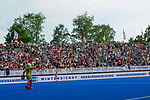 Krefeld, Germany, May 18: During the Final4 semi-final fieldhockey match between Rot-Weiss Koeln and Mannheimer HC on May 18, 2019 at Gerd-Wellen Hockeyanlage in Krefeld, Germany. (worldsportpics Copyright Dirk Markgraf) *** Victor Aly #30 of Rot-Weiss Koeln